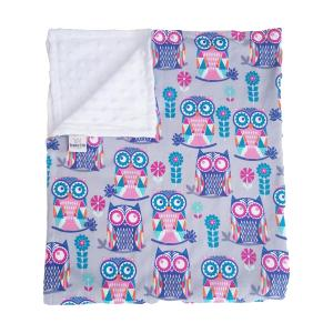Owl Cotton Baby Blanket