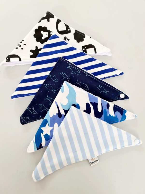 Brilliant Blue Bib Bundle