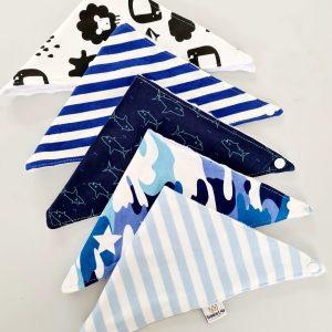 Brilliant Blue Bib Bundle