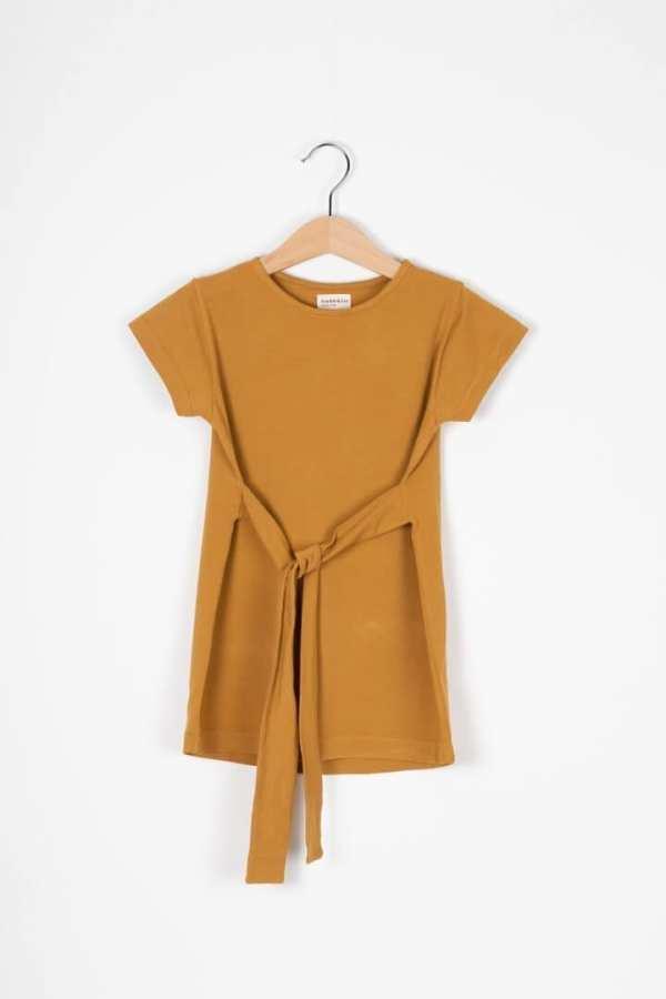 Produktfoto: Kleid mit Bindegürtel für Kinder, Vorderseite