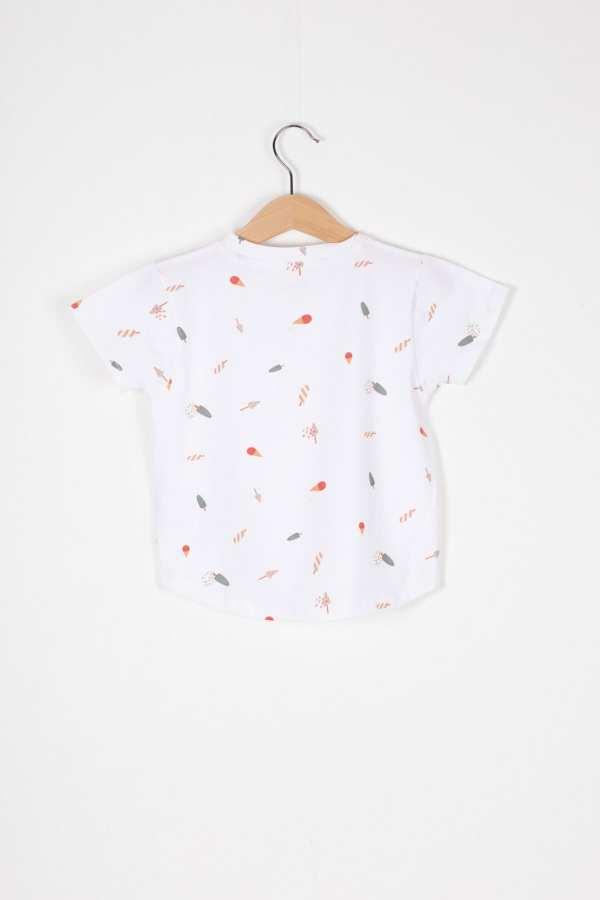 Produktfoto: T-Shirt aus Bio-Jersey für Kinder, Rückseite