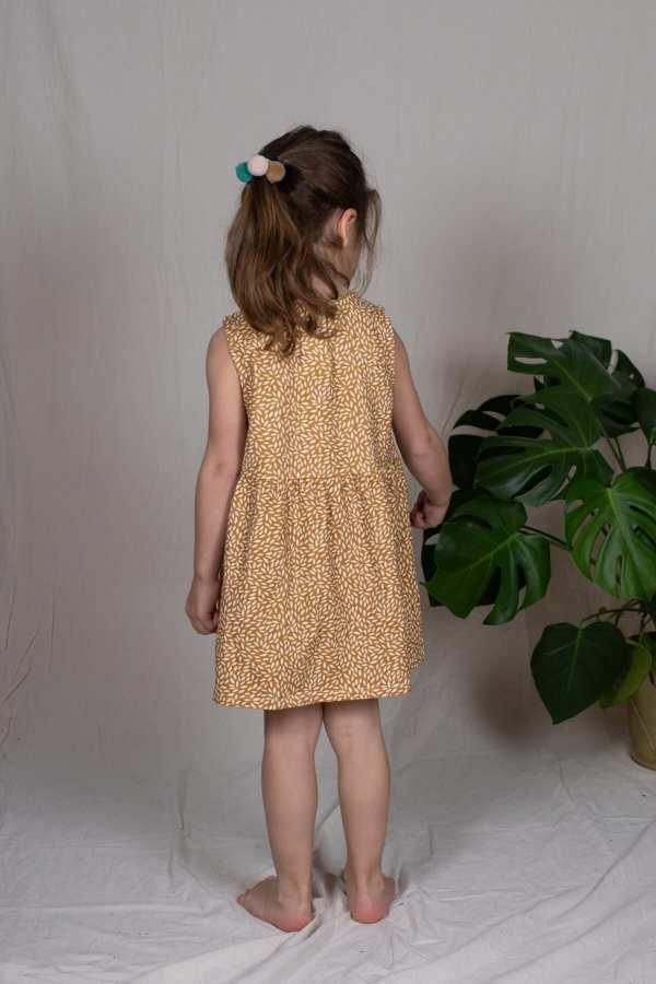 Tragebild: Kleid aus Bio-Jersey für Kinder
