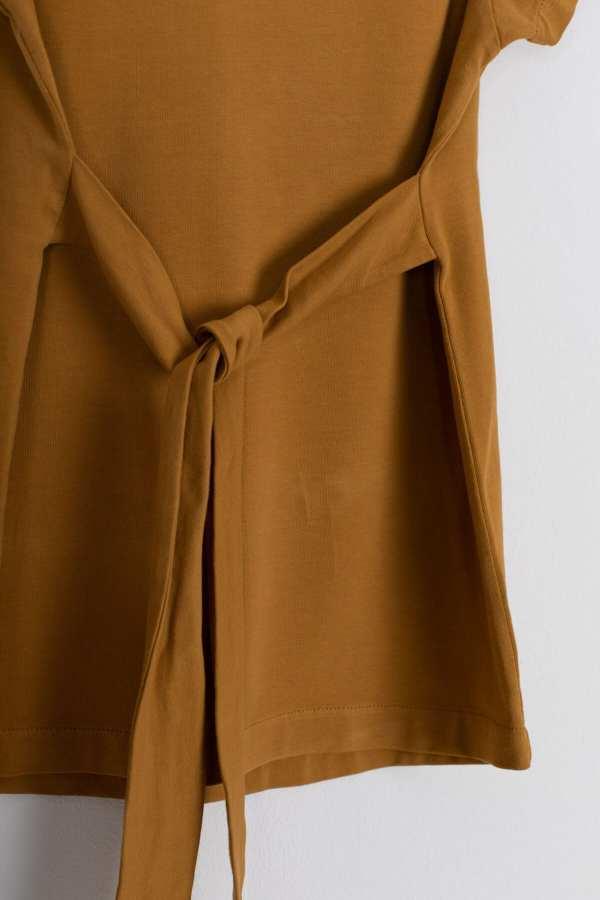 Produktfoto: Kleid mit Bindegürtel für Kinder, Detail