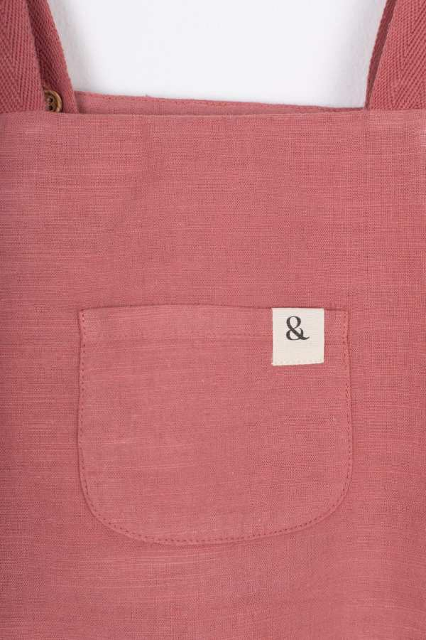 Produktfoto: Einteiler mit mitwachsenden Trägern für Babys, Detail