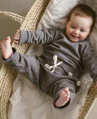 Sweat Hosen in slate für Kinder