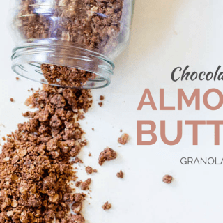 Chocolate Almond Butter Granola