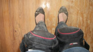 Working Feet: Who else refinishes floors in ballet flats?