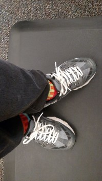 Feet at Work: Standing desk = ugly comfy shoes