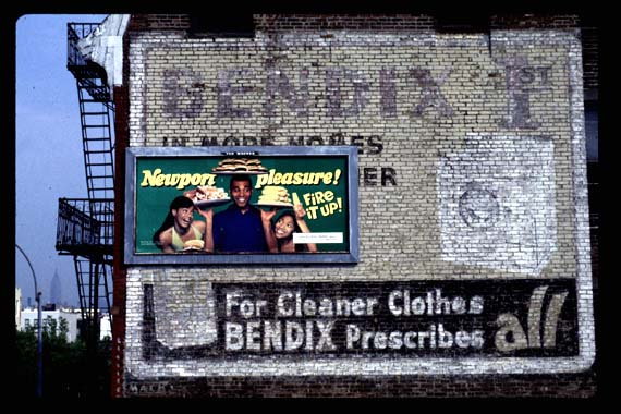 Bendix Home Laundry  circa 1950s  Bedford & Myrtle Avenues, Brooklyn- taken September, 1998