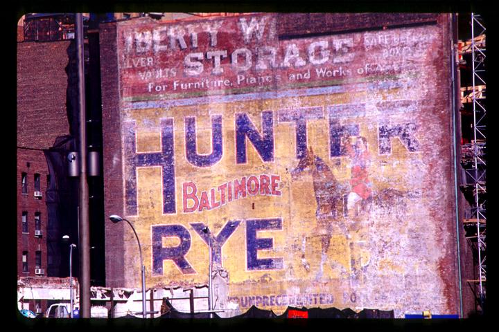 Hunter Baltimore Rye - April 2002 - © Frank H. Jump