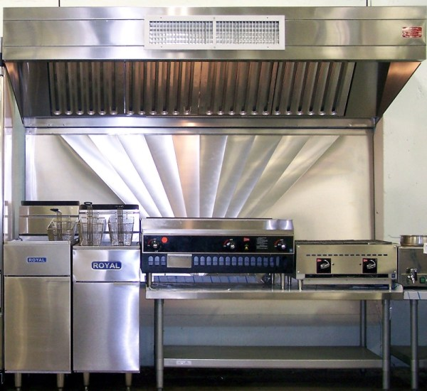 industrial kitchen hood in Franklen Sheet Metal | Quality Parts and Fabricated Assemblies | Ocean Grove, NJ