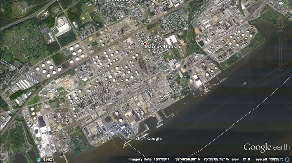 Sunoco  Marcus Hook Refinery