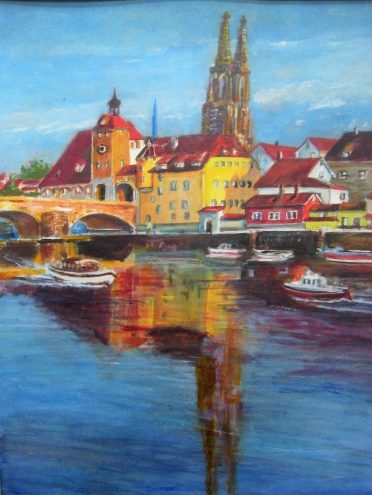 Regensberg, Along the Danube