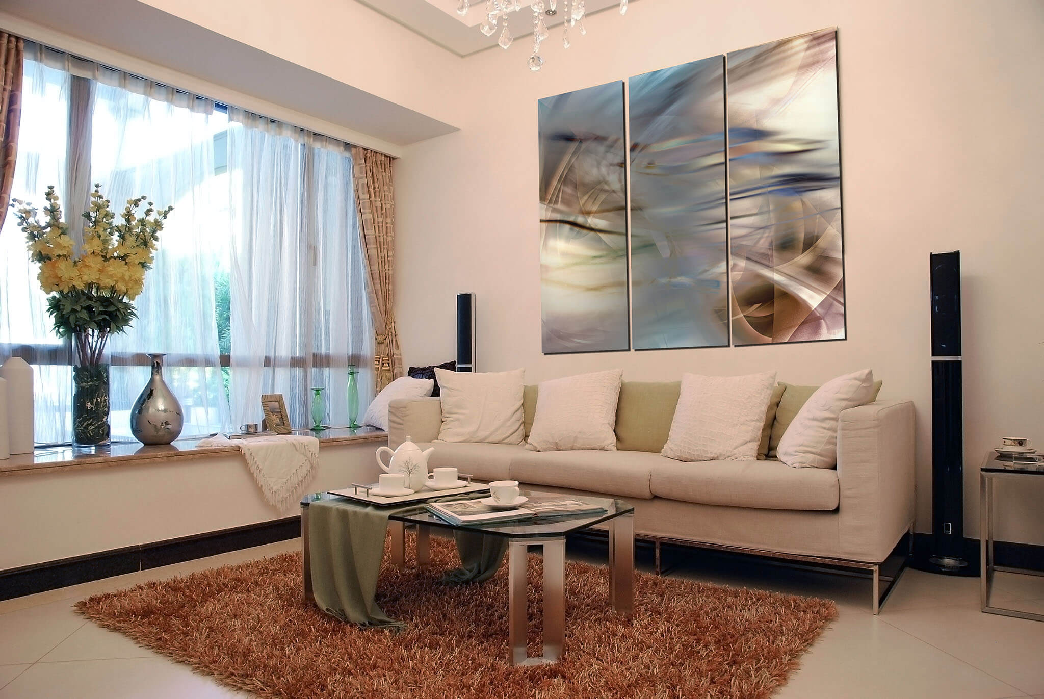 ideas for living room wall art green and brown rugs franklin arts 3 panel