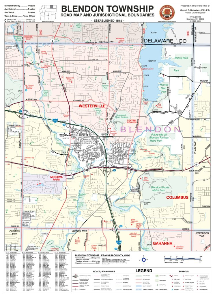 township maps franklin county