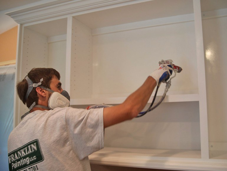 kitchen cabinet refinishing ct remodeling chattanooga tn - expert sprayed lacquer finishes for ...