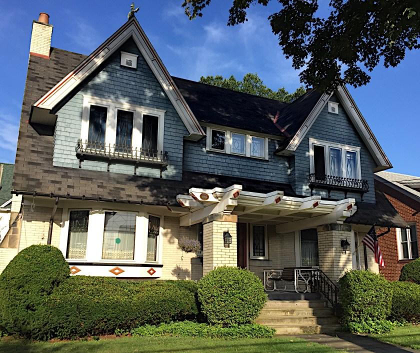 Craftsman Style bungalow built in 1906. Elk Street