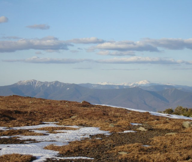 Looking At The Franconias And Presidentials From Mt Moosilauke Click To Enlarge