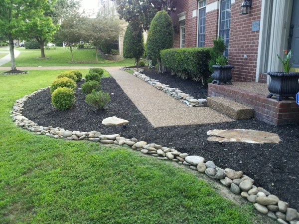 landscaping rock - residential