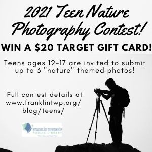 Teen Nature Photography Contest – 2021