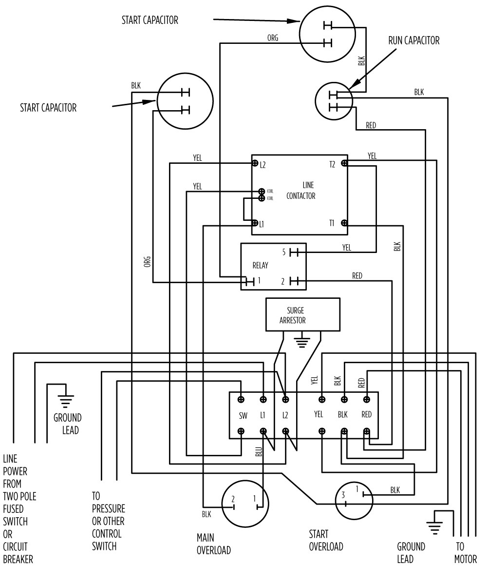 Wiring Diagram For 220v Pool Pump Motor Timer Wiring