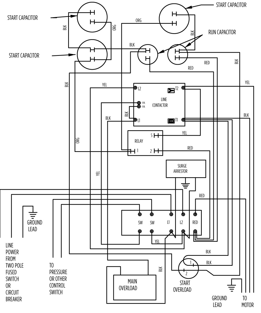 small resolution of aim manual page 57 single phase motors and controls motor rh franklinwater com franklin submersible well