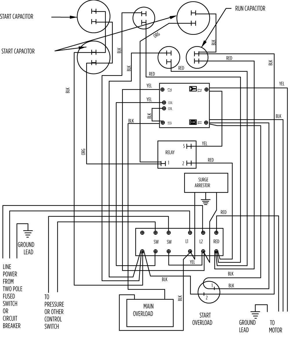 medium resolution of aim manual page 57 single phase motors and controls motor15 hp deluxe 282 203 9310 or