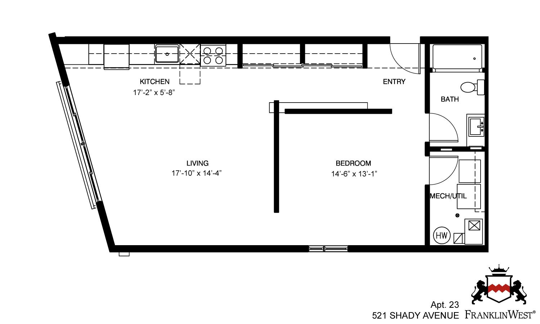 Franklin West 521 Shady Avenue Apt 23