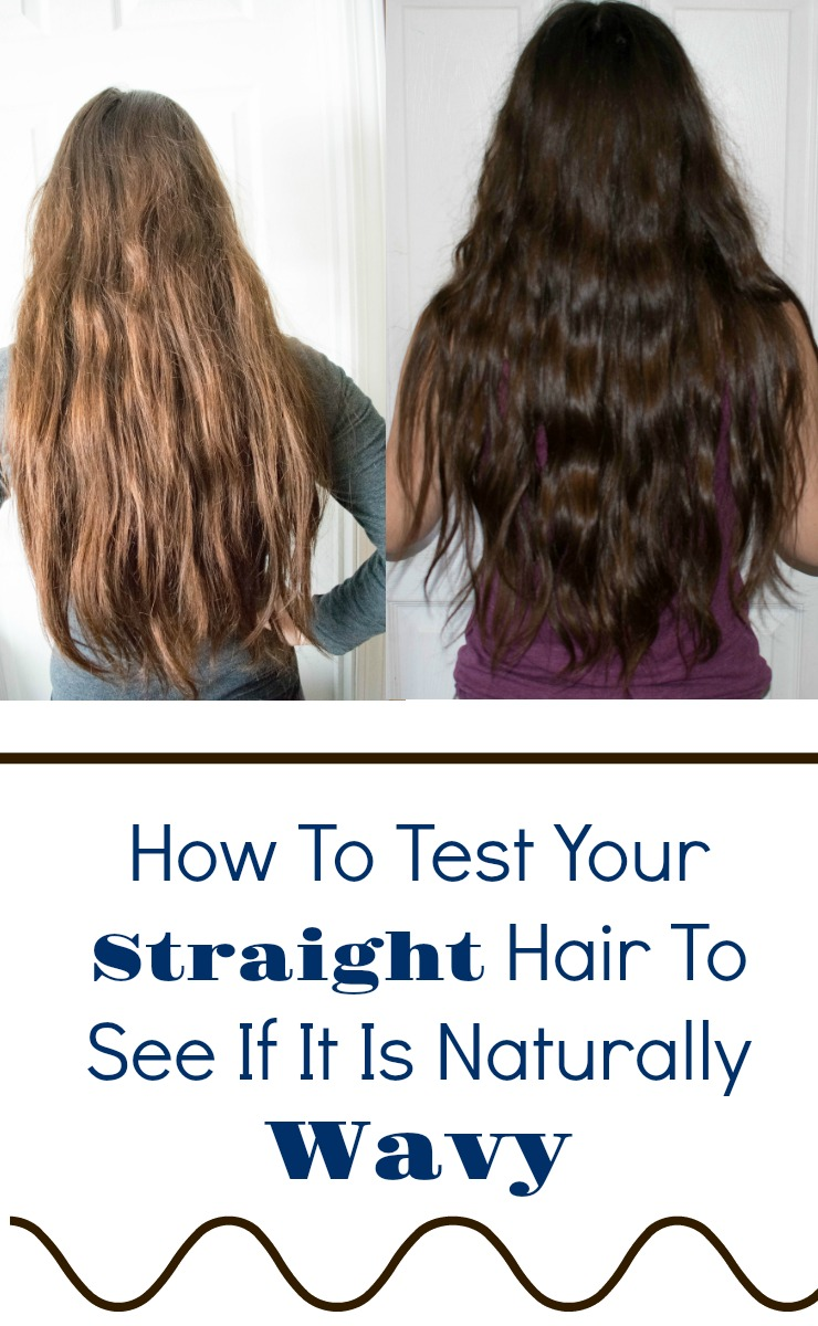 How To Test Your Straight Hair To See If It's Naturally ...