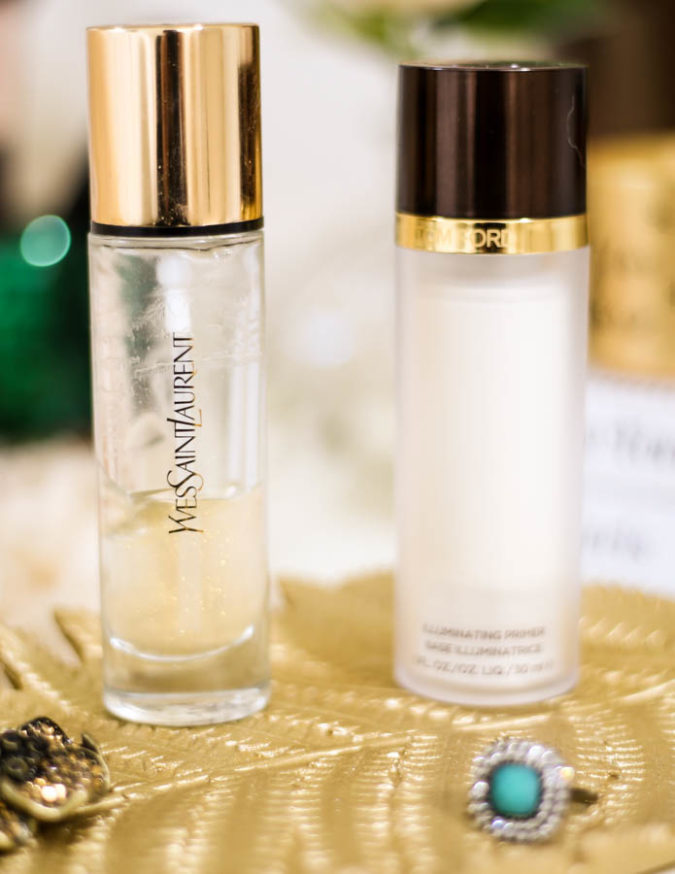Get The Glow- My Favourites for Glowing Skin | YSL Touch Eclat Blur Primer & Tom Ford Illuminating Primer _