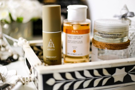 The Basic Skincare Steps you Need in your Routine | feat Alpha H Liquid Gold, Ren Ready Steady Glow Tonic & Oskia Micro Exfoliating Balm