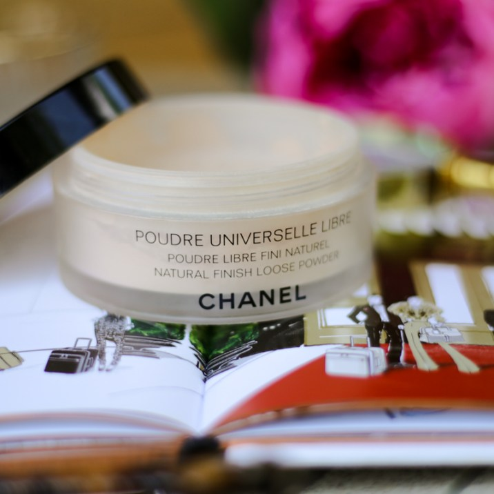 11 Favourite But Somewhat Underrated Beauty Products   feat Chanel Natural Finish Loose Powder styled on Megan Hess Book