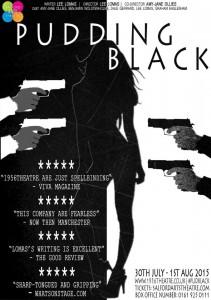 Pudding Black Poster