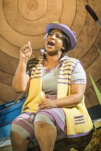 Sophia Nomvete as Mrs Otter in WIND IN THE WILLOWS