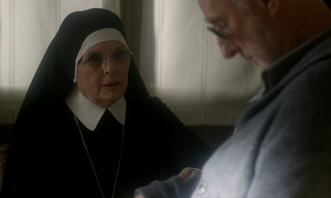 Diane Keaton in THE YOUNG POPE