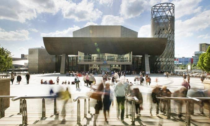 The Lowry Theatre Exterior Design