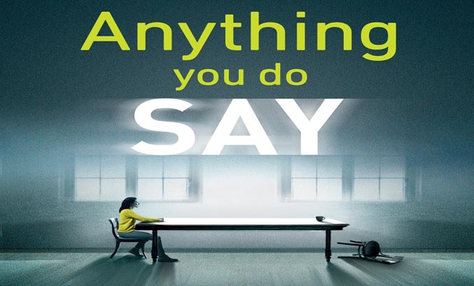 ANYTHING YOU DO SAY by Gillian McAllister Book Artwork