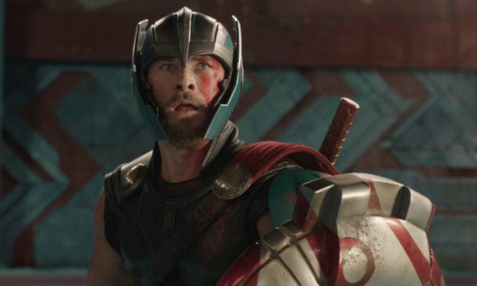 Chris Hemworth in THOR RAGNAROK