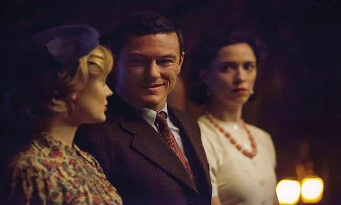 Rebecca Hall, Luke Evans, and Bella Heathcote in Professor Marston and the Wonder Women (2017)