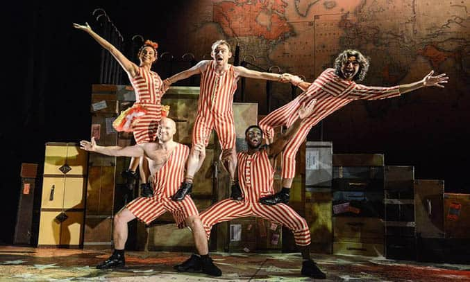 theatre review around the world in 80 days the lowry salford
