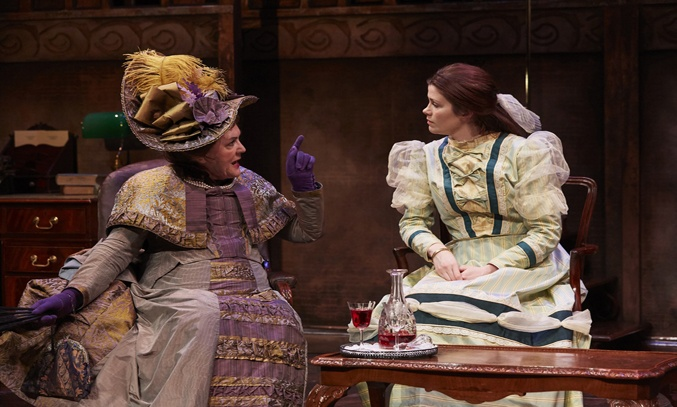 Gwen Taylor and Louise Coulthard in THE IMPORTANCE OF BEING EARNEST.