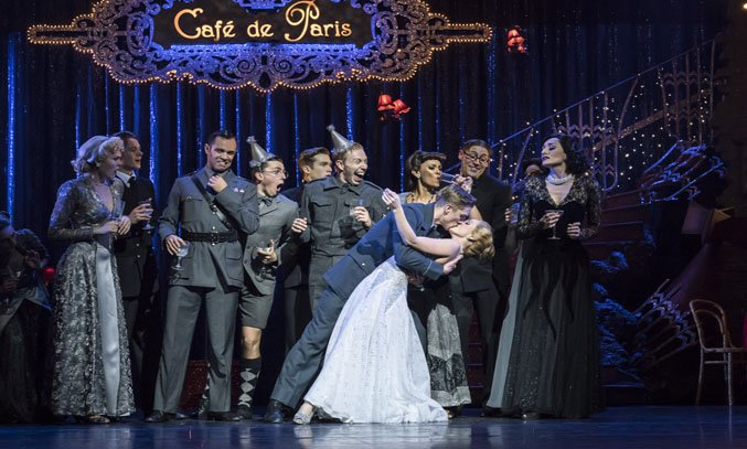The cast of Matthew Bourne's CINDERELLA