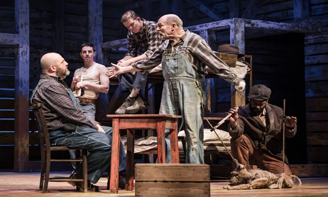 The cast of OF MICE AND MEN