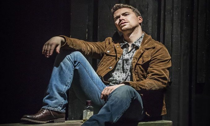Richard Fleeshman as Gideon Fletcher in THE LAST SHIP.