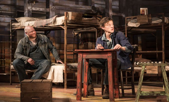 Richard Keightley and Matthew Wynn in OF MICE AND MEN