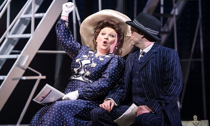 Claire Machin and Timothy Quin in Titanic The Musical