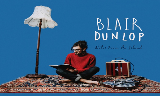 Blair Dunlop NOTES FROM AN ISLAND Album Cover