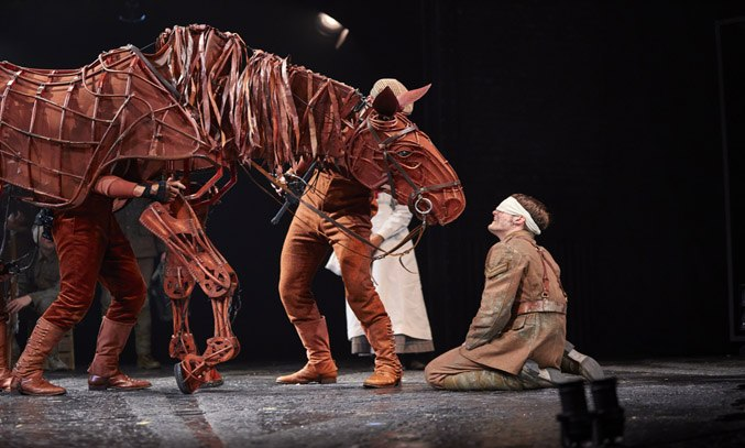 Thomas Dennis as Albert & Joey in WAR HORSE