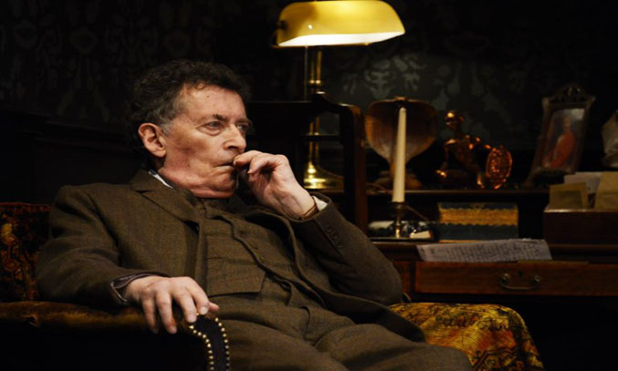 Robert Powell in Sherlock Holmes The Final Curtain.