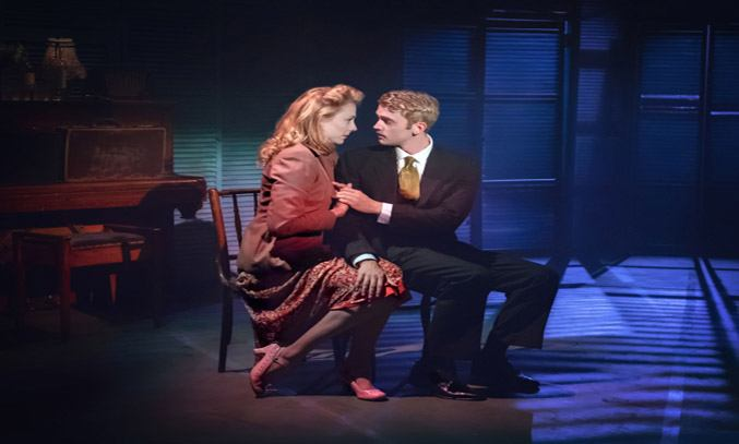 Kelly Price (Rose) and Felix Mosse (Alex) in ASPECTS OF LOVE